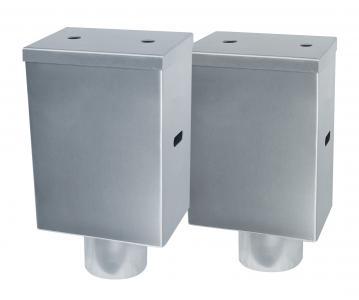 Wassersammelkasten einfach Ausführung schlicht Design Notüberlauf