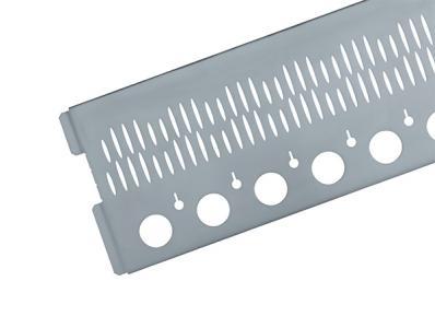 Flexible Kiesfangleiste unterschiedliche Kantmaße möglich