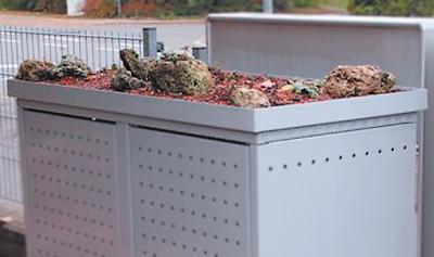 Pflanzschule für Müllbox